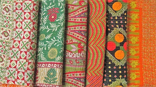 Kantha Quilts This Time Now